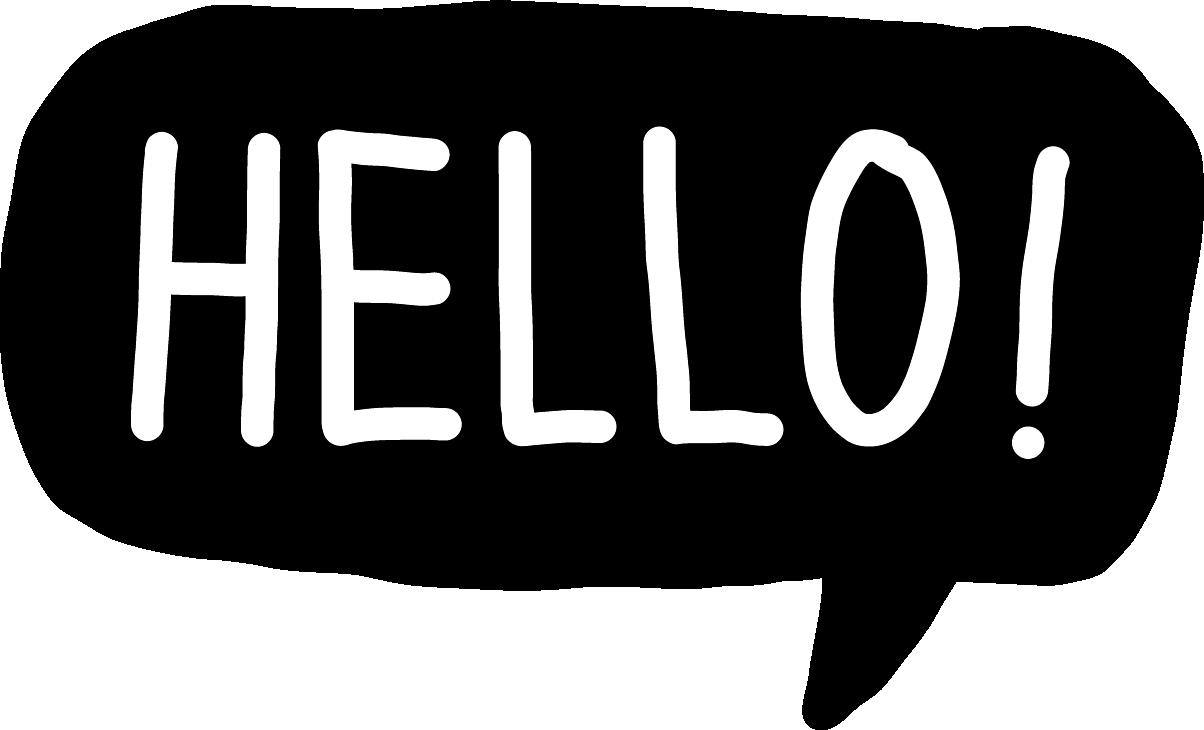 20-DAde-Button-Hello-schwarz
